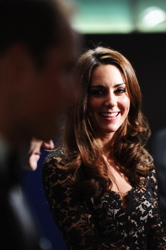 Prince William and Kate Middleton wallpaper containing a portrait entitled The Royal couple at War Horse premiere