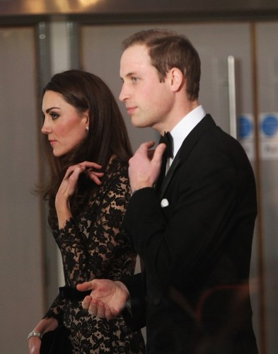 The Royal couple at War Horse premiere