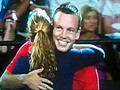 Tomas Berdych and Petra Kvitova won Hupman Cup ,embrace