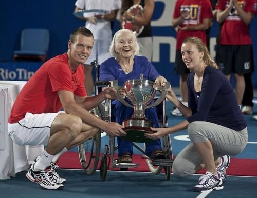Tomas Berdych and Petra Kvitova won Hupman Cup