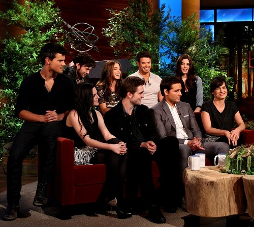Twilight Cast on Ellen