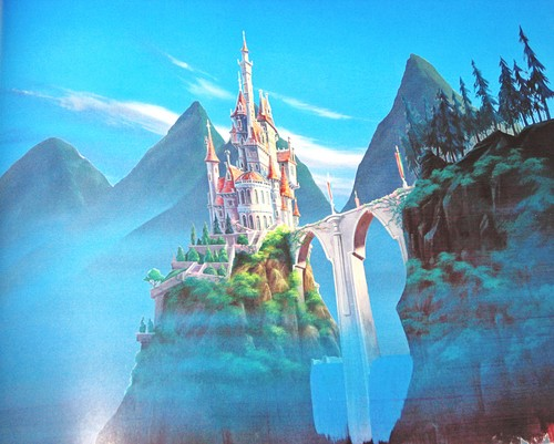 Walt 迪士尼 Backgrounds - Beauty and the Beast