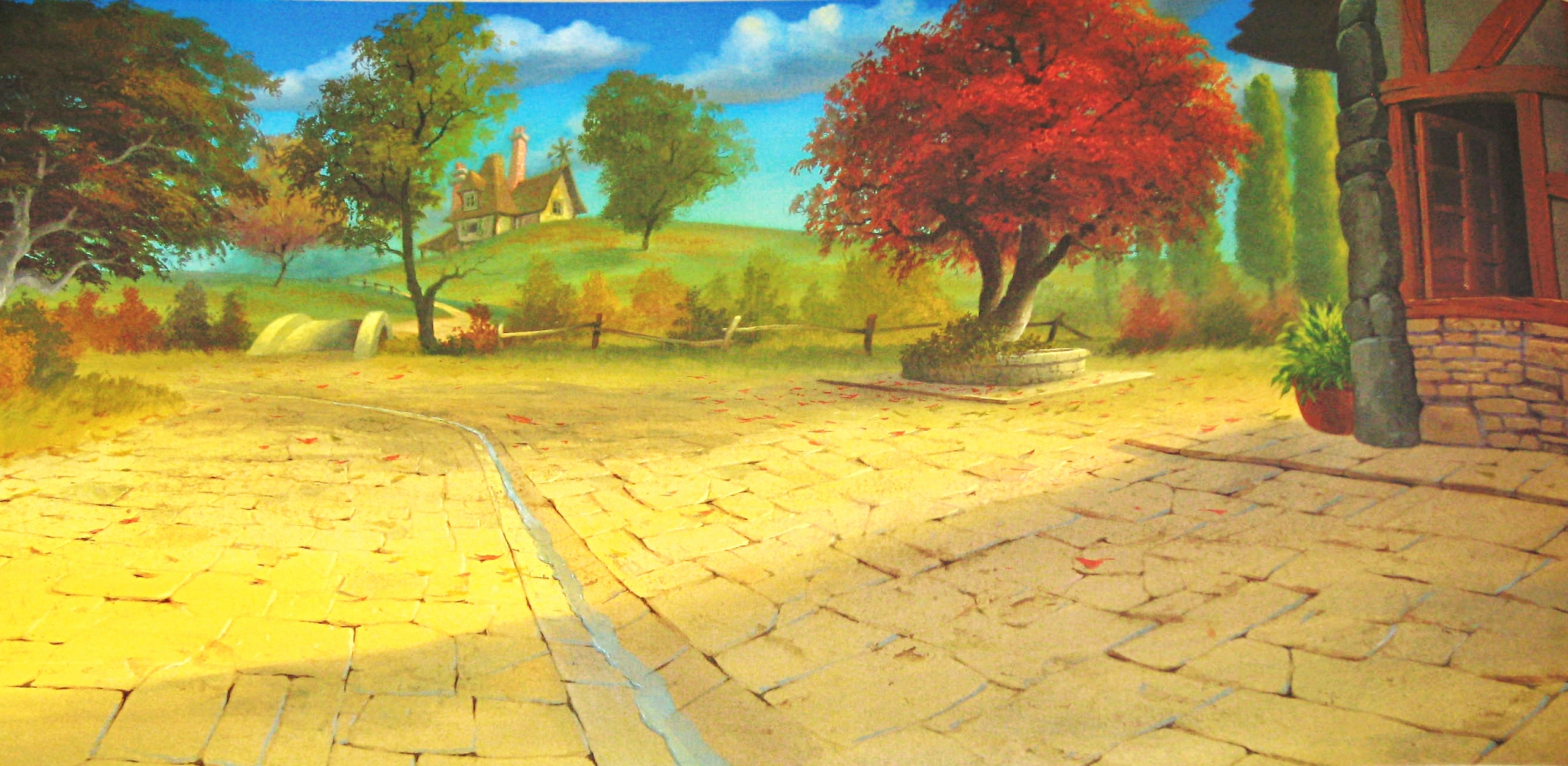 Walt ডিজনি Backgrounds - Beauty and the Beast