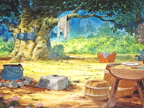 Walt disney Backgrounds - Robin kap, hood