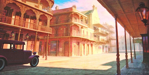 Walt 迪士尼 Backgrounds - The Princess and the Frog