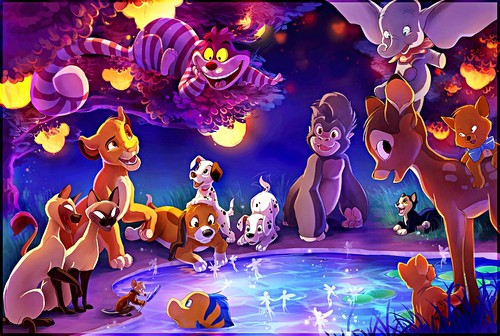 Walt Disney shabiki Art - The Gathering of Disney