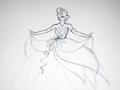 Walt 디즈니 Sketches - Princess Tiana