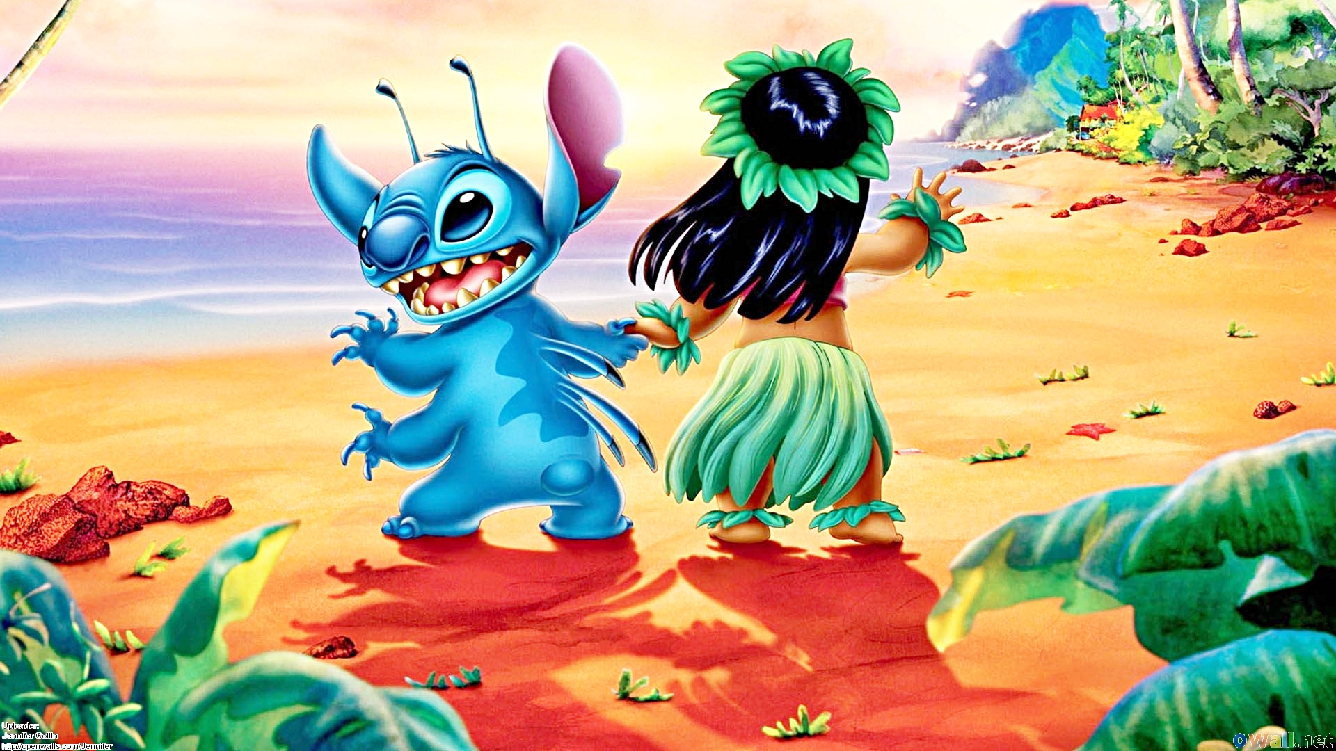 Walt disney wallpapers - Stitch & Lilo Pelekai