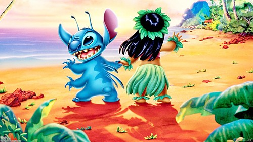 Walt Disney wallpaper - Stitch & Lilo Pelekai