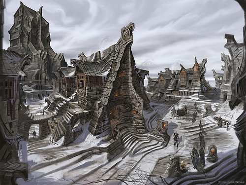 Windhelm Concept Art