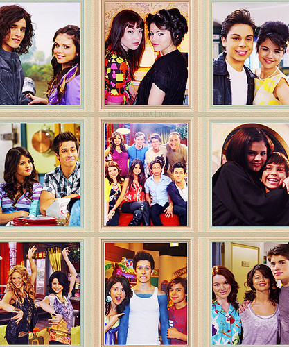 Television wallpaper possibly with anime titled Wizards of Waverly Place