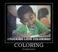 coloring.. - hahahahahahaha photo