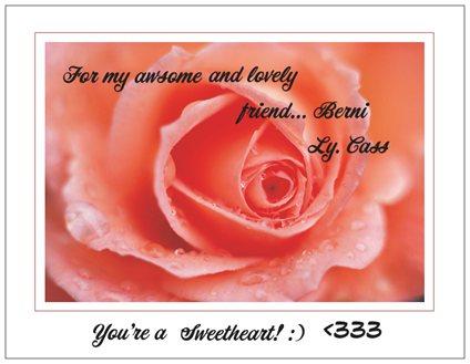 for dear berni