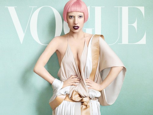gaga for vogue