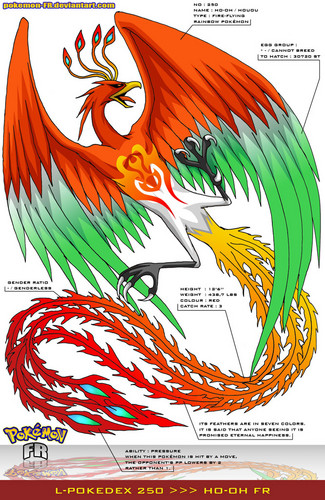 ho-oh the legendary phoenix