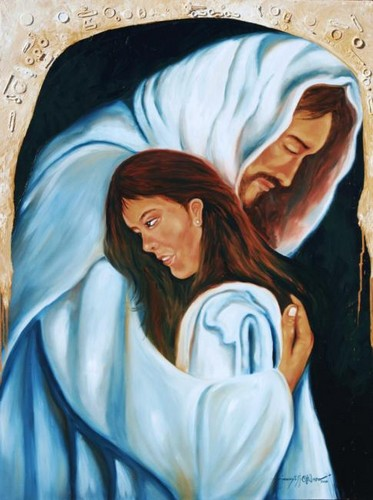 jesus with women