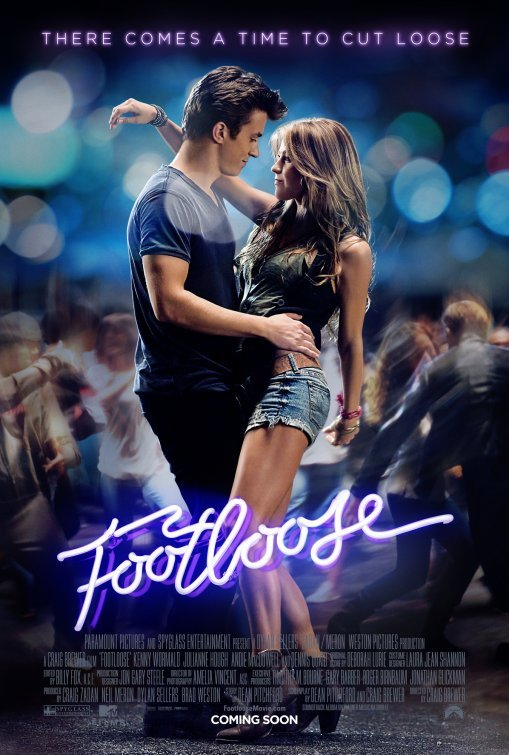 julianne hough footloose poster