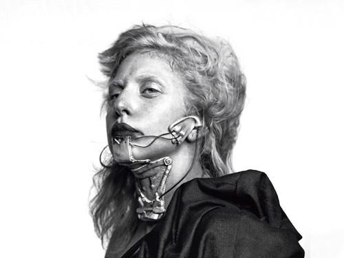lady gaga for L'Uomo Vogue