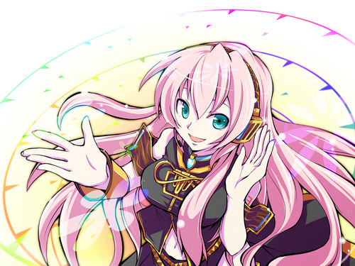 Anime wallpaper called luka