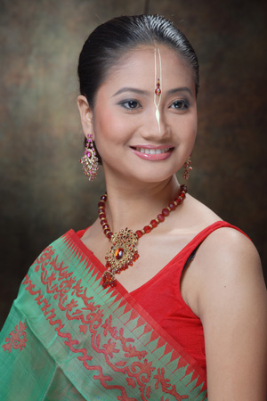 manipuri traditional dresses - manipur Photo