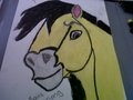 spirit drawing - spirit-stallion-of-the-cimarron fan art
