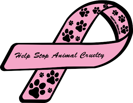 Awareness Ribbons দেওয়ালপত্র entitled stop animal cruelty