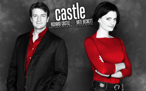 замок & Beckett Обои containing a business suit and a suit called ☆ Caskett ☆