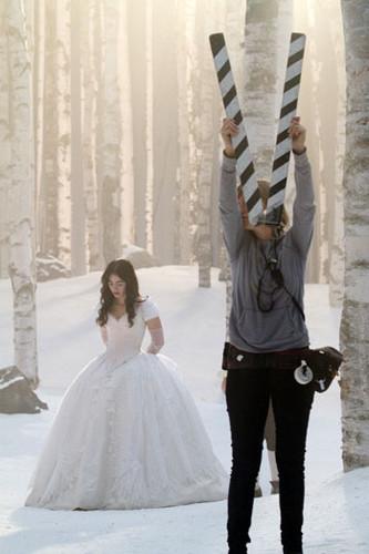 'Mirror, Mirror' Behind the scenes photos