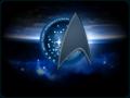 «Эмблема 3го Звёздного Флота» [ «The Logo of the 3rd Starfleet» ] - star-trek wallpaper