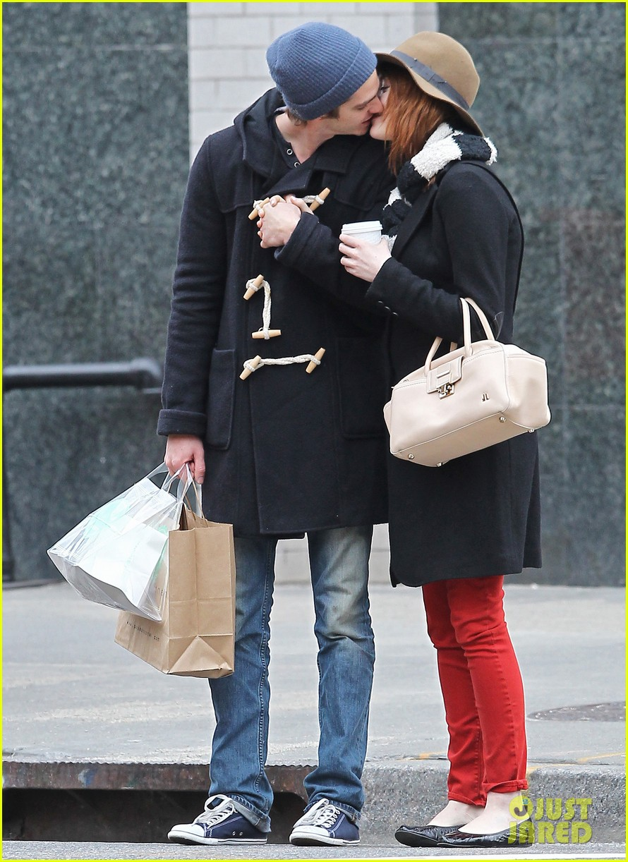 Andrew garfield and emma stone