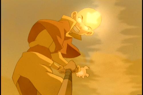 Avatar: The Last Airbender achtergrond entitled Aang & Katara