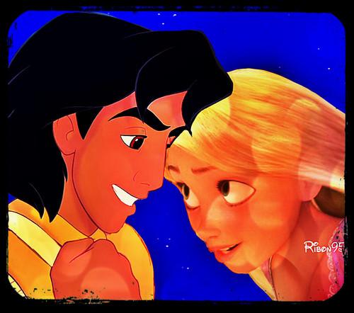 Aladdin and Rapunzel