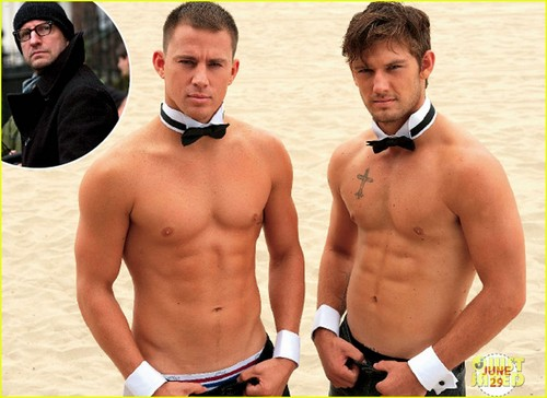 Alex Pettyfer & Channing Tatum: Shirtless 'Magic Mike' Still!