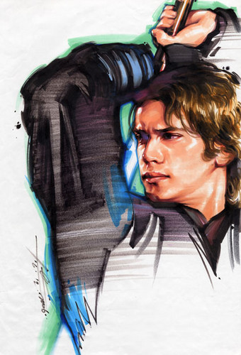 Anakin in full color