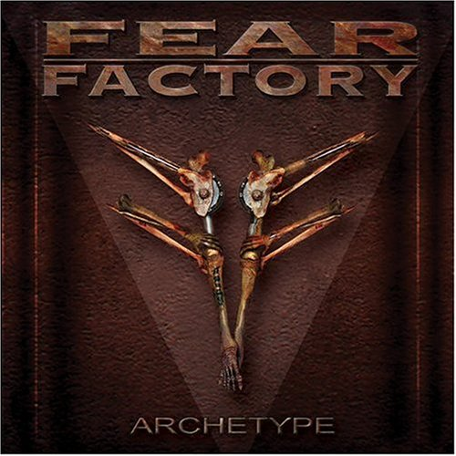 Fear Factory Hintergrund probably containing a sign titled Archetype