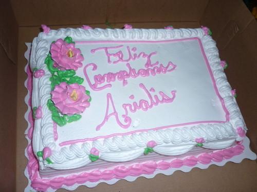 Arialis Birthday Cake - Republic of Panama