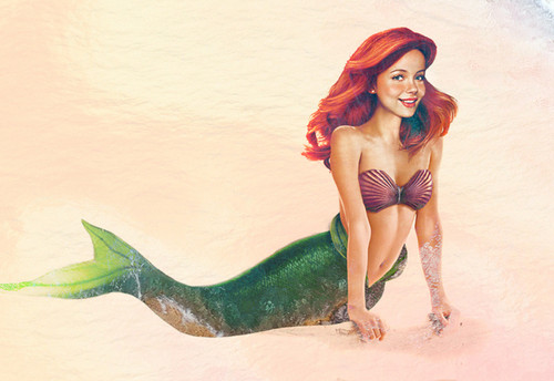 Ariel Realistic Painting