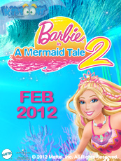 Barbie MT2, coming in theatre on February 2012.