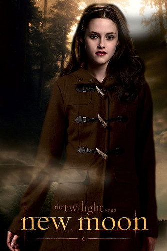 New Moon Movie wallpaper possibly containing a box coat called Bella - New Moon