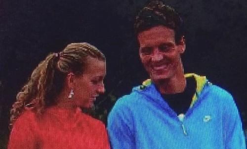Berdych Kvitova SMILE....