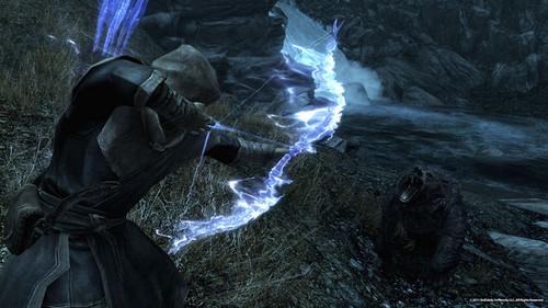Elder Scrolls V : Skyrim wallpaper called Bound Bow