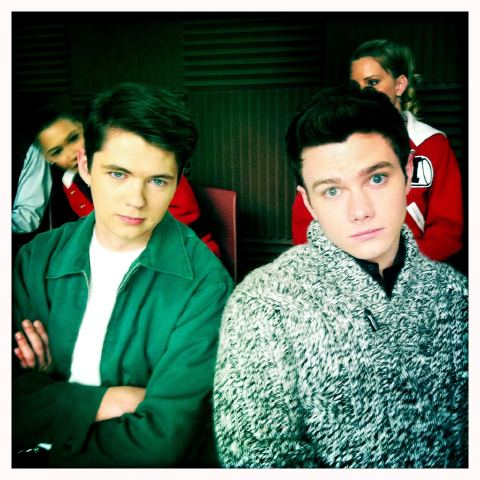 Brothers? Seein similarities in @chriscolfer and @damianmcginty - damian-mcginty Photo