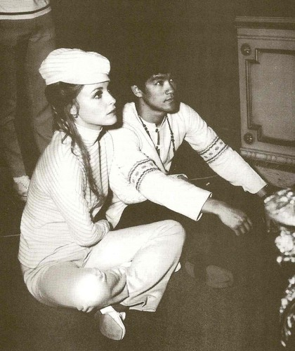 Bruce with Sharon Tate