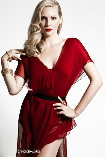 Candice Accola wallpaper possibly containing a cocktail dress and a dinner dress titled Candice Accola New Photoshoot ღ