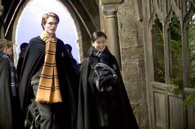 Cho Chang and Cedric Diggory