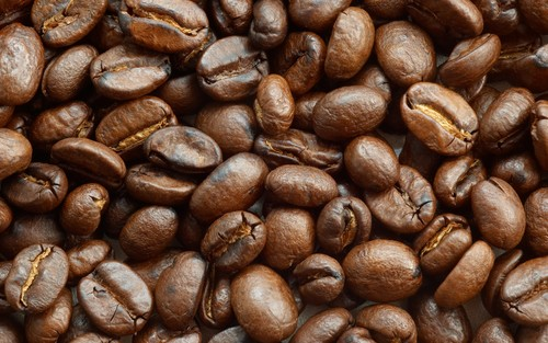 Coffee Beans achtergrond