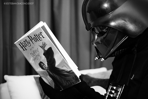 Darth Vader পাঠ করা HP