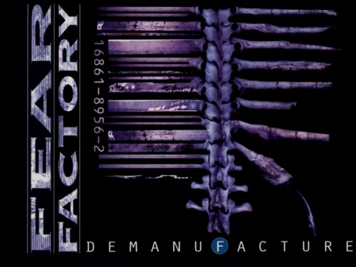 Fear Factory kertas dinding called Demanufacture