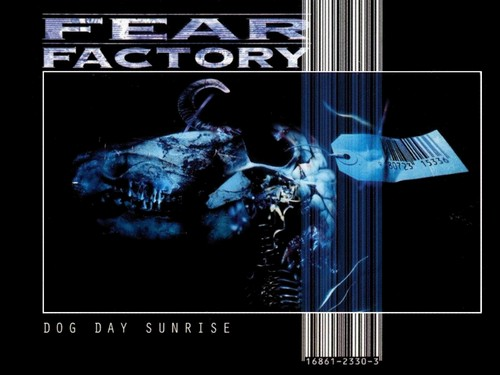 Fear Factory Hintergrund titled Dog Tag Sunrise