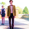 The Eleventh Doctor photo with a business suit and a well dressed person called Eleven